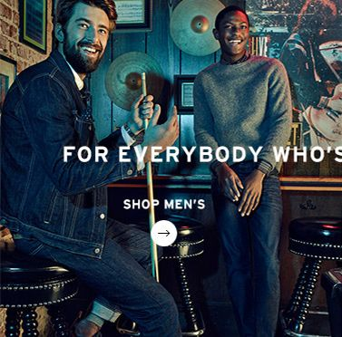 Live in Levis - Shop Mens