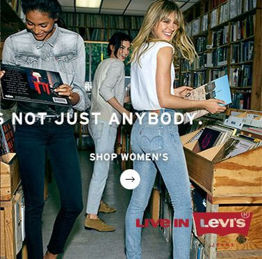 Live in Levis - Shop Womens