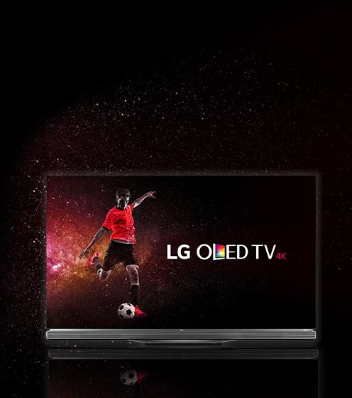 Feel part of the action with LG OLED TV