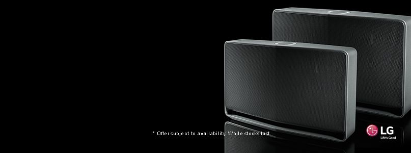 New X Series Wireless Speakers