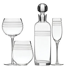 Buy kate spade new york Library Stripe Glassware  Online at johnlewis.com