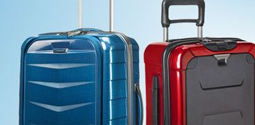 Travel with a single suitcase