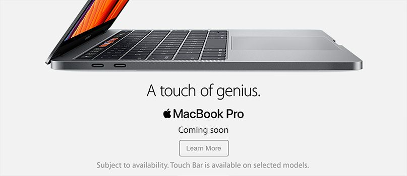 Coming Soon: MacBook Pro - A touch of genius