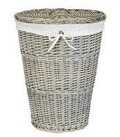John Lewis Maison Washed Laundry Basket