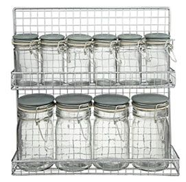 Garden Trading Spice Rack and Jars