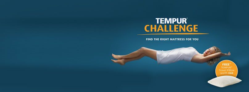 Take the Tempur Challenge