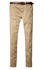 Belted Chinos, Sand