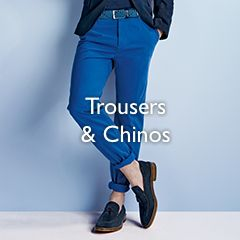 Men's Trousers and Chinos