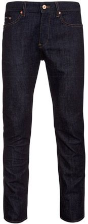 Boss Black Delaware Slim Fit Jeans, Navy