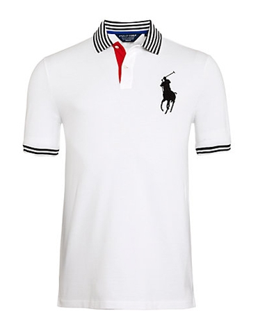 Polo Golf by Ralph Lauren Ryder Polo Shirt, White, £95