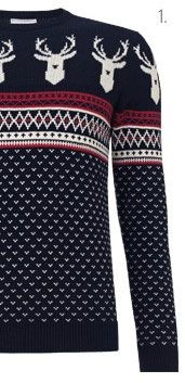 John Lewis Save The Children Christmas Jumper, Navy