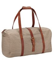 John Lewis Madison Canvas Holdall, Putty