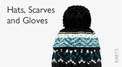 Hats, scarves and gloves