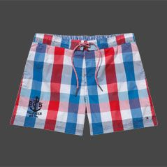Tommy Hilfiger Mack Gingham Check Swim Shorts