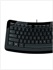 Microsoft Curved keyboard