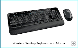 Microsoft Wireless Desktop 2000 Keyboard and Mouse