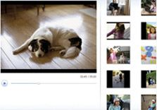 Windows Live™ Movie Maker and Photo gallery