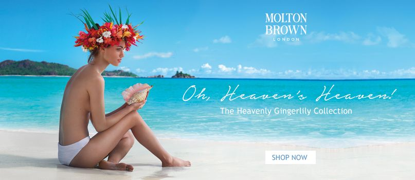 Oh Heaven%27s Heaven! The Heavenly Gingerlily Collection from Molton Brown
