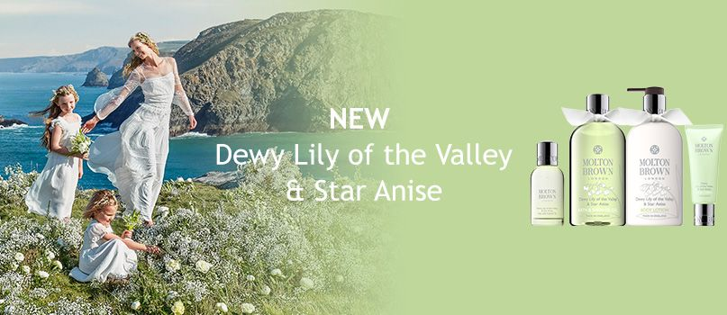 NEW Dewy Lily of the Valley & Star Anise