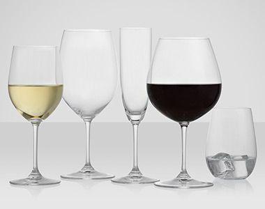 Riedel crystal glassware