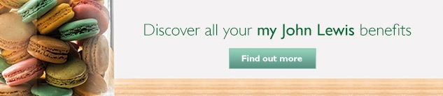 John Lewis Wedding Gift List Delivery : Discover all your my John Lewis benefitsFind out more