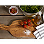 Buy Rustic Olive Wood Paddle Chopping Board Online at johnlewis.com
