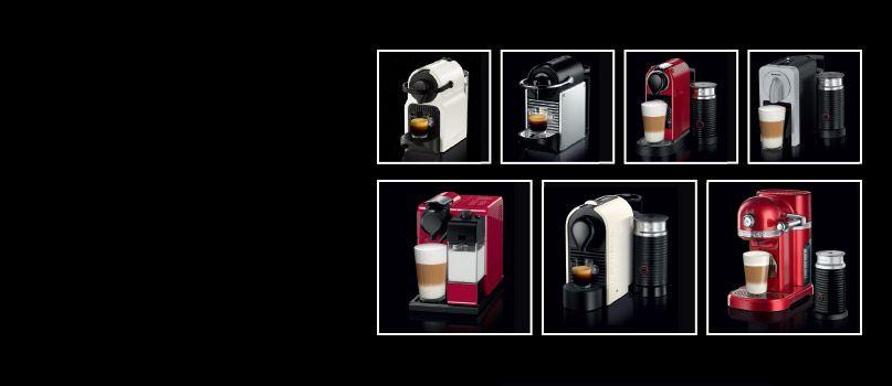 essenza nespresso machine