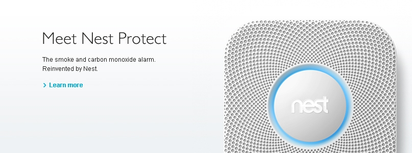 Nest - The smoke and carbon monoxide alarm. Reinvented by Nest