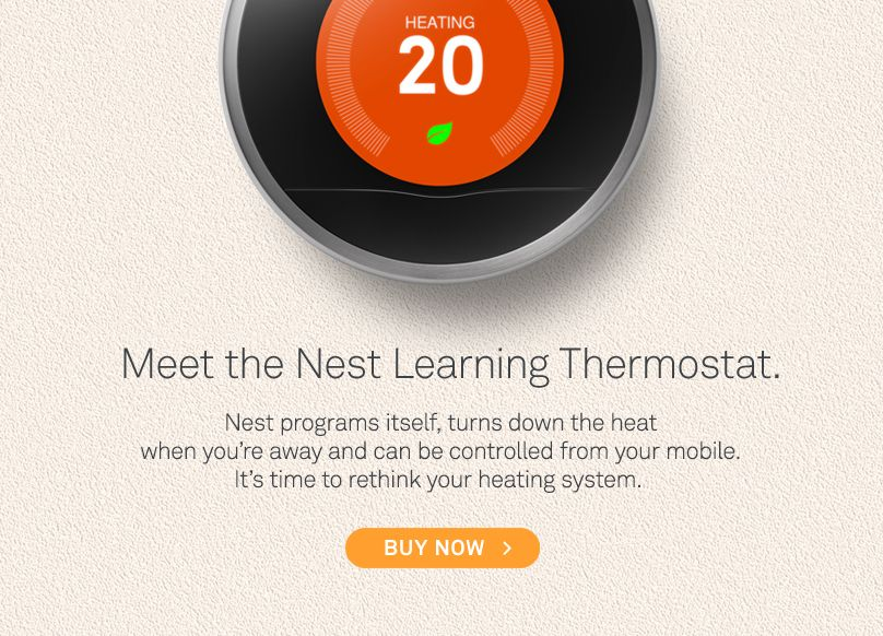 meet the Nest Learing thermostat