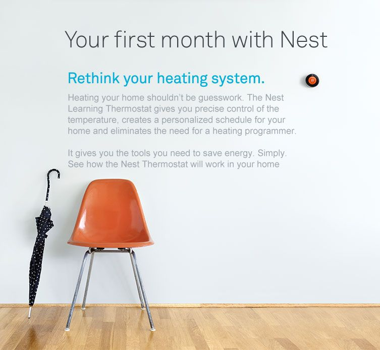 your first month with nest