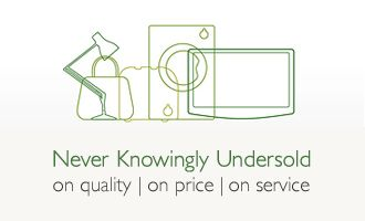 Never Knowingly Undersold on quality, price and service