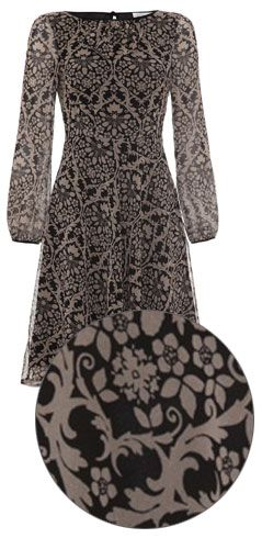 allegra by allegra hicks reagan dress floral baroque