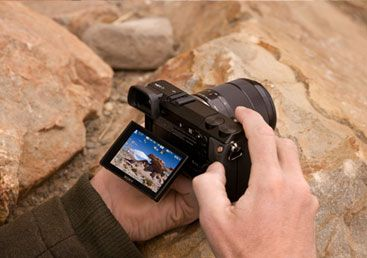 DSLR control, compact body