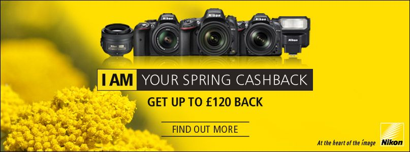 Nikon - I am your spring cashback