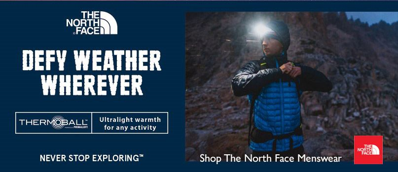 Shop The North Face® menswear
