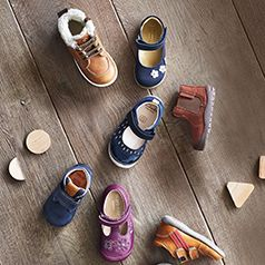 A guide to buying your child's first shoes