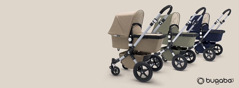 Push on - Bugaboo - *The Bugaboo Cameleon3 Classic Collection Sand Is exclusive to John Lewis from the 1st March - 12th April 2015
