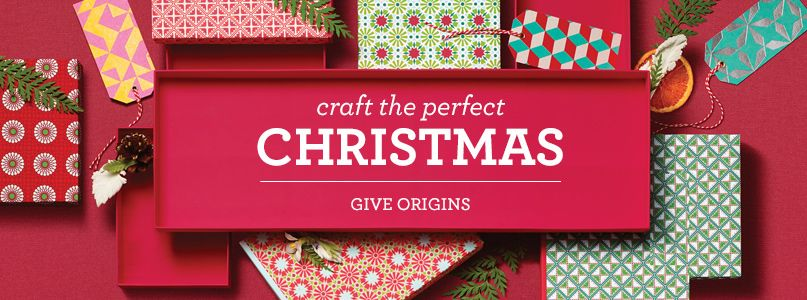 Craft the perfect christmas - give origins