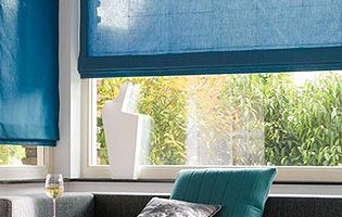 Example of blinds supplied from the Luxaflex blinds range