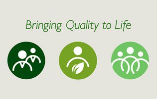 Bringing Quality to life logo