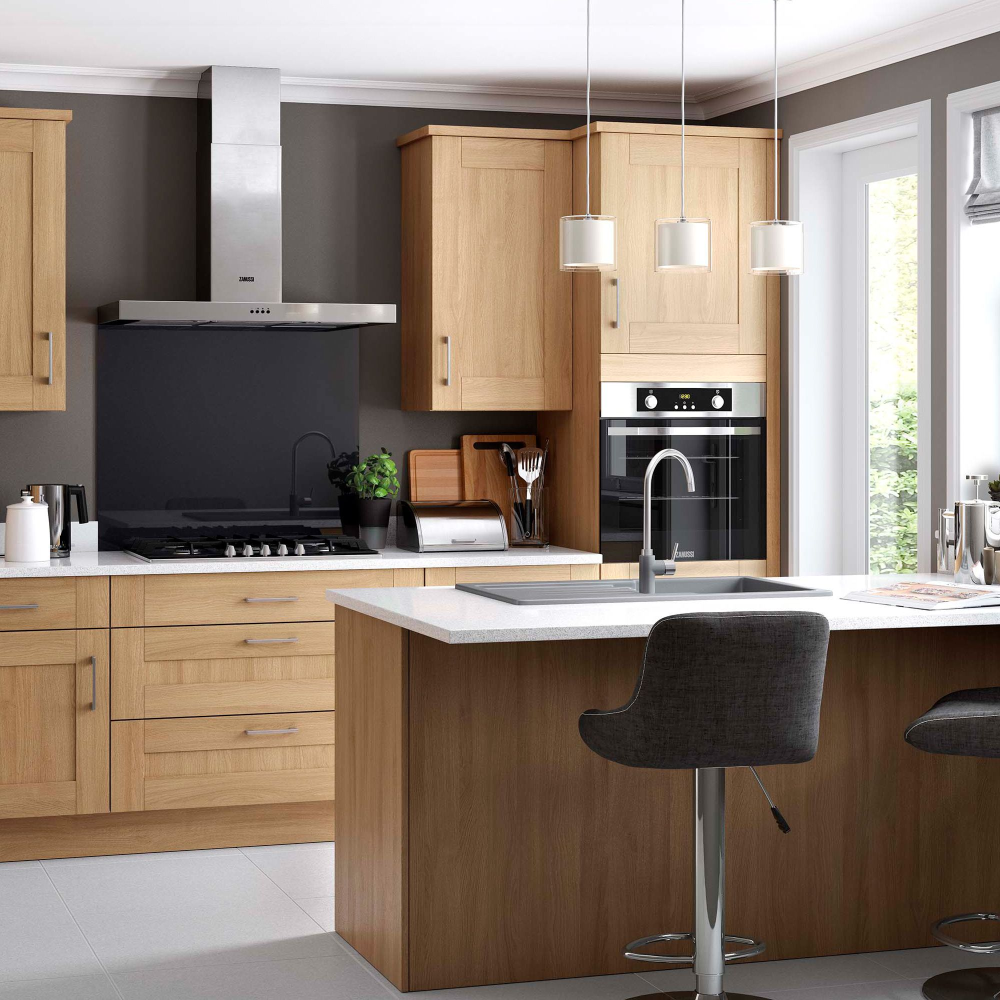 Fitted furniture plan for kitchens & bathrooms