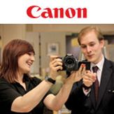 Come and meet Canon demonstrators in store