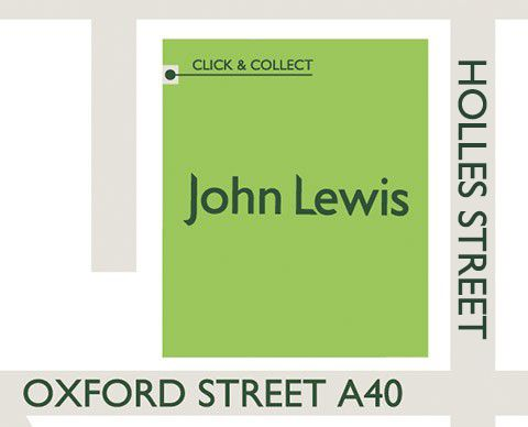 Oxford Street Click & Collect location