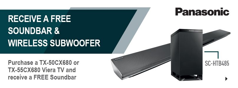 Receive a free soundbar and wireless subwoofer