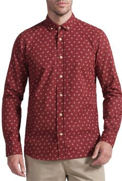 JOHN LEWIS & Co. Canasta Paisley Print Long Sleeve Shirt