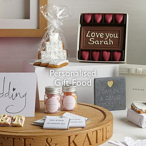 Personalised Gift Food