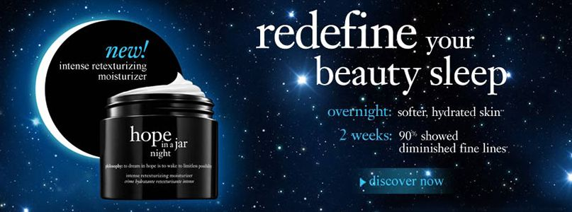 Philosophy - Redefine your beauty sleep