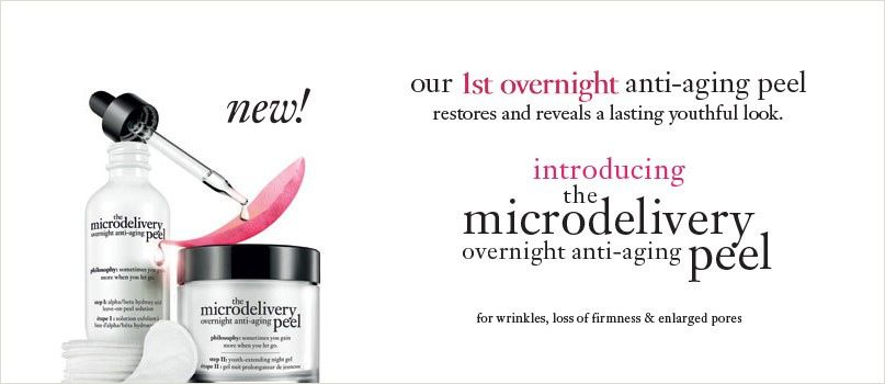 Introducing the microdelivery overnight anti-aging peel