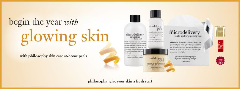 Philosophy - begin the year with glowing skin