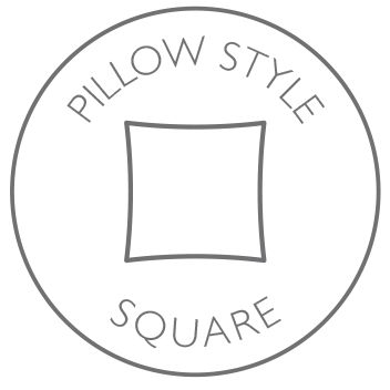 Pillow style - square